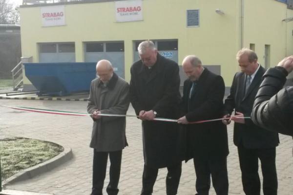 Sóskút wastewater plant hand over!